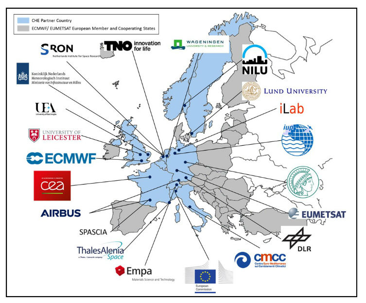 22 partners from 8 European countries